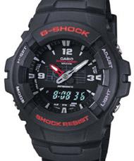 Casio G-Shock Watch - G100-1BV