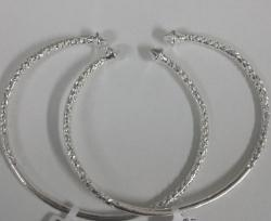 Sterling Silver West Indian Bangles - Pointy End