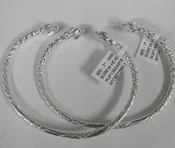 Sterling Silver West Indian Bangles - Spears