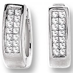 14K  0.25CT  DIAMOND EARRING