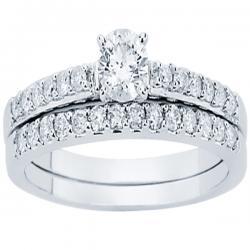 14K 0.66CT DIAMOND BRIDAL RING